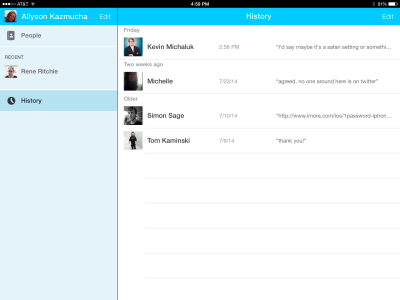 Displaying 16> Images For - Skype App Ipad...