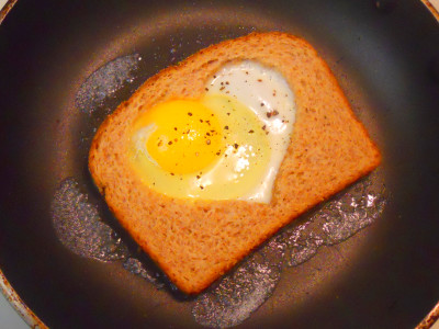 How To Make Heart Shaped Eggs | Apps Directories