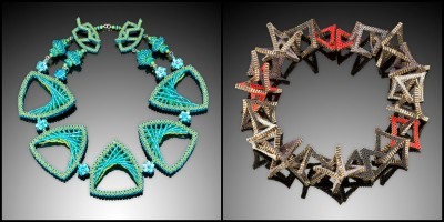 Kathy King Jewelry — wearable beaded sculpture