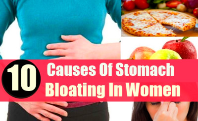 10 CAUSES OF STOMACH BLOATING IN WOMEN | Lady Care Health - Part 1345938361000