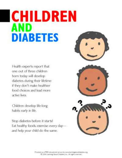 Diabetes Information PDF Forms for Organizations ...