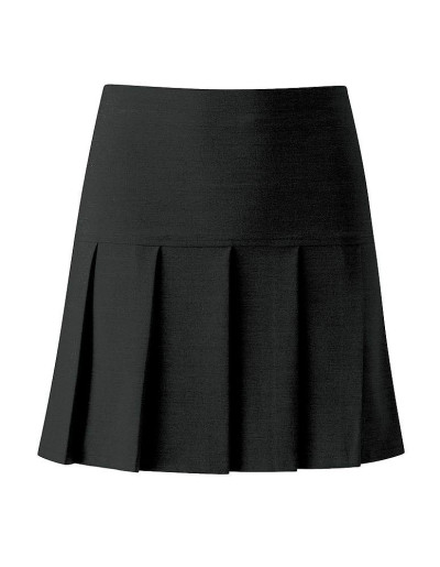 Match Fit Kit Pleated Black School Skirt - Senior Sizes - Higham Lane ...