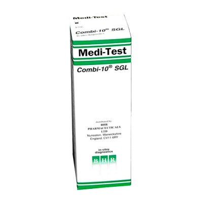 BHR Medi-Test Combi 10SGL Test Strips (Pack of 100) (MED137)