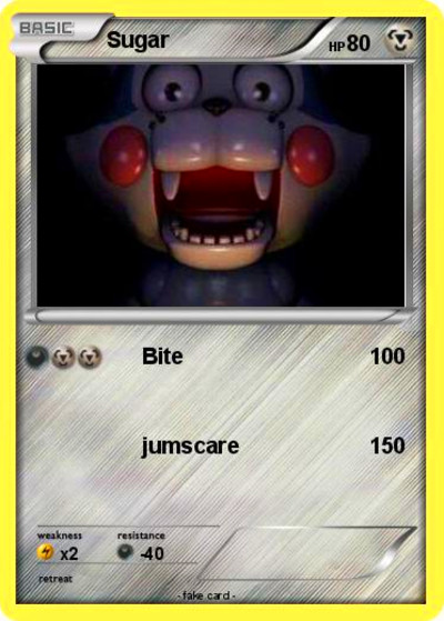 Pokémon Sugar 132 132 - Bite - My Pokemon Card