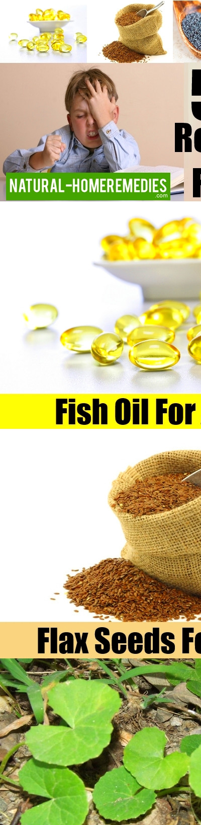 5 Home Remedies For ADHD – Natural Home Remedies & Supplements