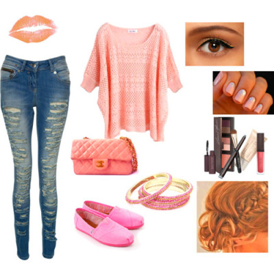Spring Polyvore Combinations in Baby Pink: Adorable Baby via