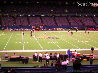 New Orleans Saints - Superdome Section 143 - RateYourSeats.com