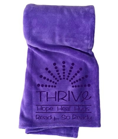 Home / Cancer Support / Thrive Fleece Blankets