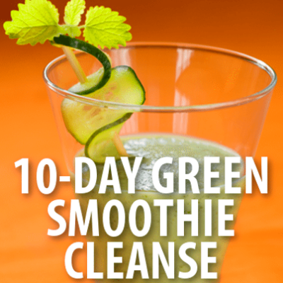 JJ Smith Green Smoothie Cleanse 10 Day Snacks