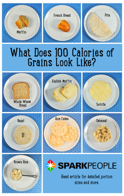 What Does 100 Calories Look Like? | SparkPeople