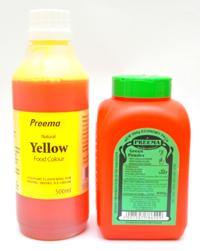 Wide Range of Possible Colourants & Professional Food Colours