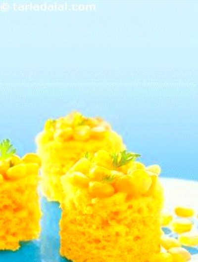 Instant Corn Dhokla ( Non- Fried Snacks ) recipe | by ...