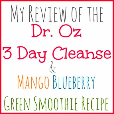 Dr. Oz 3-Day Cleanse