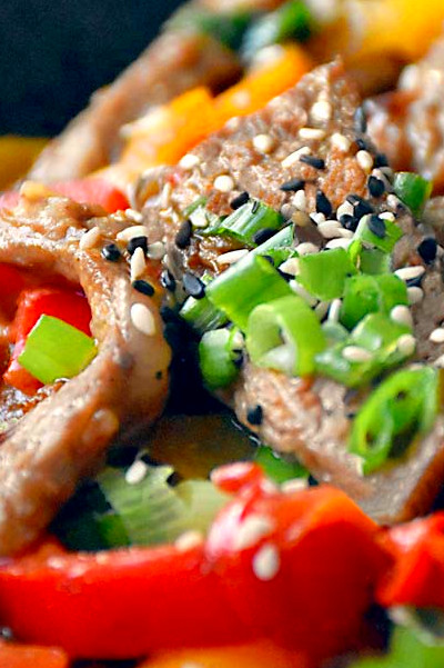 Hunan Beef - Low Carb + Paleo Perfection - The Little Pine