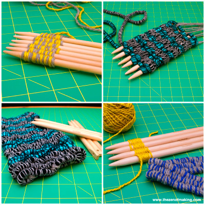 ... reviewed the new clover weaving sticks sets on craft test dummies