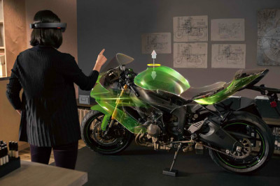 Microsoft HoloLens Blends High-Def Holograms with Your Reality