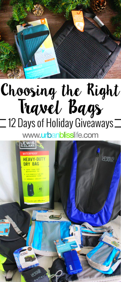 Choosing Right Travel Bags Accessories Giveaway
