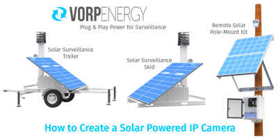 How to Create a Solar Powered IP Camera - Vorp Energy