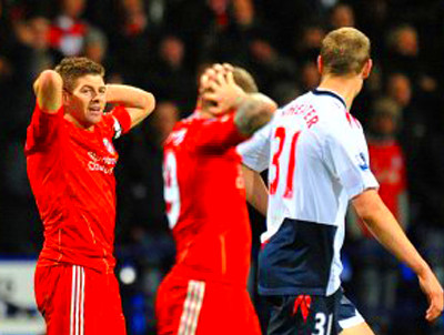 Bolton 3-1 Liverpool: Reds Make Pig's Ear Of Trotters ...