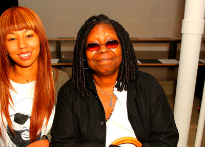 Whoopi Goldberg Jerzey Dean (L) and Whoopi Goldberg attend the Jeremy ...