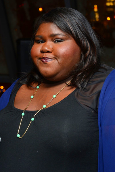 Gabourey Sidibe Actress Gabourey Sidibe attends The Cinema Society and ...