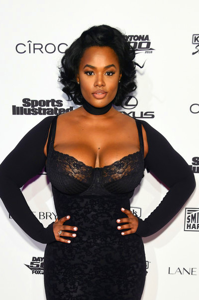 Precious Lee in Sports Illustrated Swimsuit 2016 - NYC VIP Press Event - Zimbio