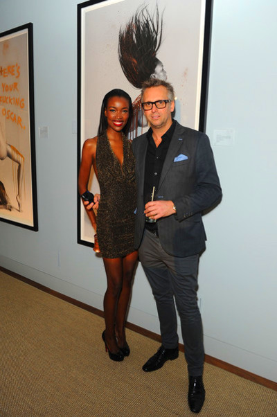 Tia Shipman Tia Shipman (L) and Steve Shaw attend the Treats! Magazine ...