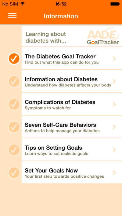AADE Diabetes Goal Tracker Helps Diabetics Make the Lifestyle Changes They Need to Stay Healthy ...