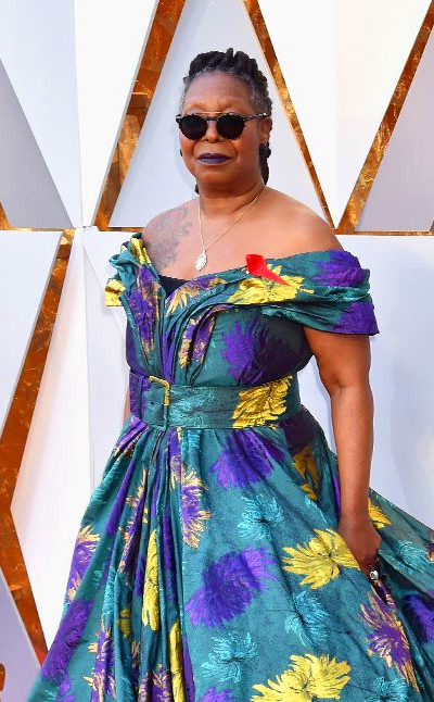 Whoopi Goldberg from Standout Style Moments From Oscars ...