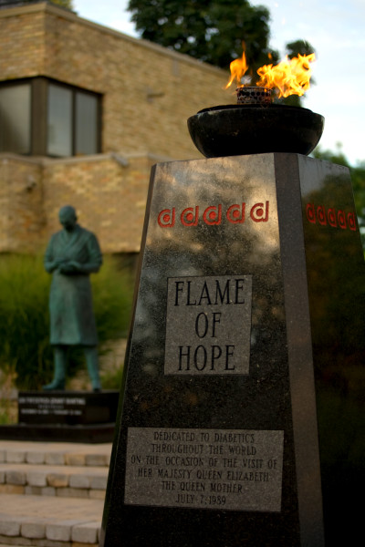 Fun Facts about the Flame of Hope! – Banting House