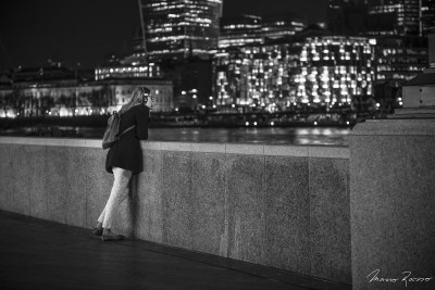 Listening / 22:32, Sound of Music | Queen's Walk, London ...