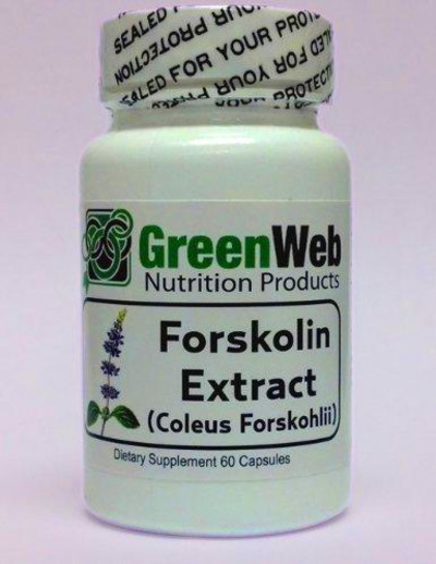 Green Web Forskolin Extract (Coleus from Amazon | Things I want
