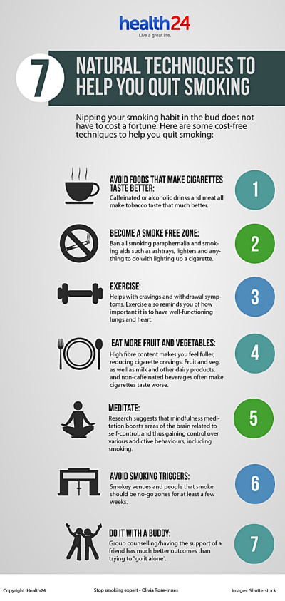 7 natural techniques to help you quit smoking | Health24