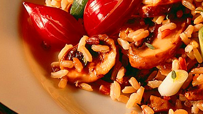 Wild & Brown Rice with Exotic Mushrooms - Diabetes Self-Management