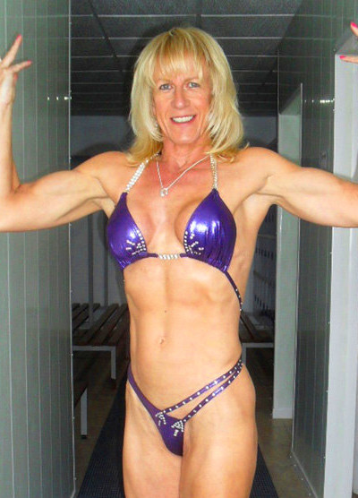Woman becomes ripped bodybuilder after leaving husband for ...