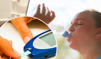 Type 2 diabetes symptoms - why thirst and dehydration is warning sign | Health | Life & Style ...