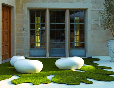 Modern Outdoor Seating Pebble | Creative Living