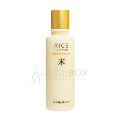 Home Products THE FACE SHOP Rice & Ceramide Moisture Emulsion
