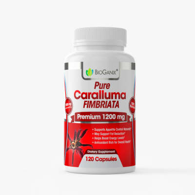 Pure Caralluma Fimbriata Extract 1200 mg (120ct) – Bioganix