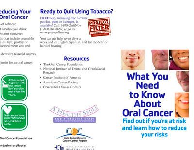 Cancer Brochures – Idaho Health Tools
