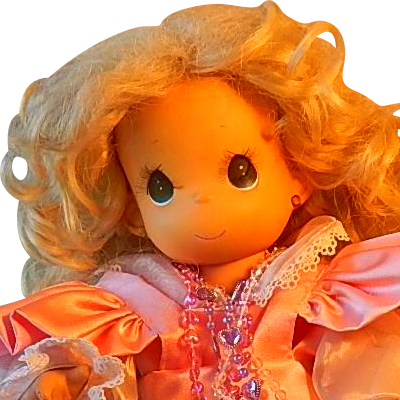 Precious Moment Lil' Gabby Doll from colemanscollectibles on Ruby Lane