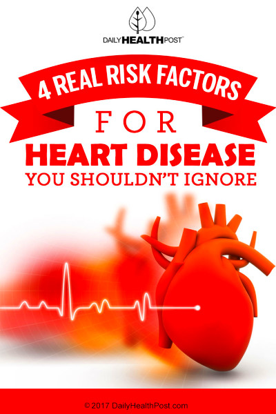 4 Real Risk Factors for Heart Disease You Need to Know