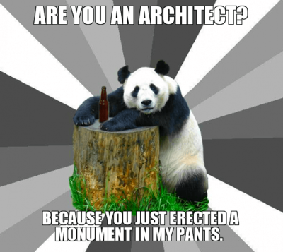 5 Funny Architects, Model And Modeling Meme