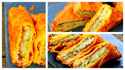 Bread Pakora - Aloo Bread Pakoda - Evening Snack - Indian ...