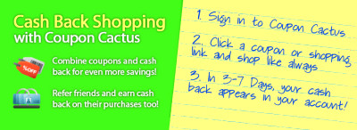 Coupons, coupon codes, online cash back shopping free at ...