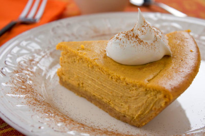 Easy Pumpkin Cheesecake | MrFood.com