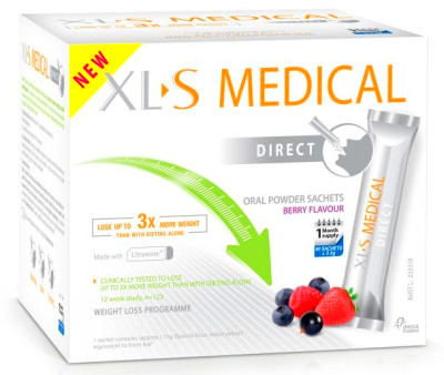 Xls Medical-Direct Weight Loss Diet Fat Binder 90 Sachets ...