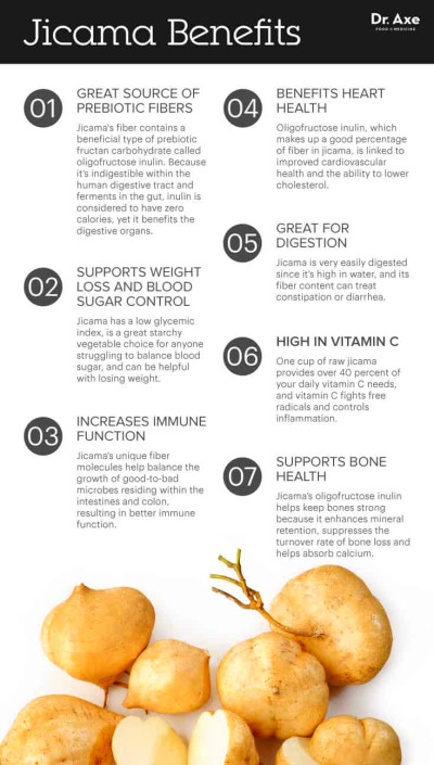 Jicama: Full of Prebiotic Fiber, It Helps Weight Loss - Dr ...