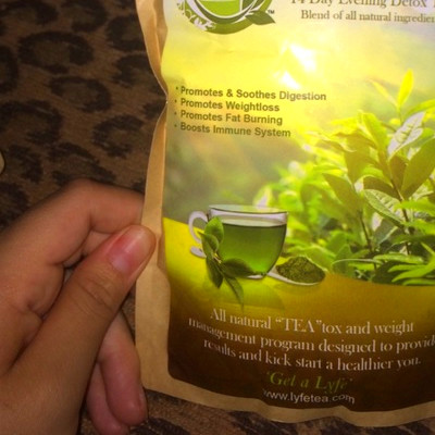 lyfe tea size m teatox 14 day tea tox proven to suppress appetite ...