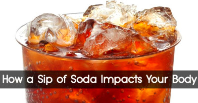 How a Sip of Soda Impacts Your Body